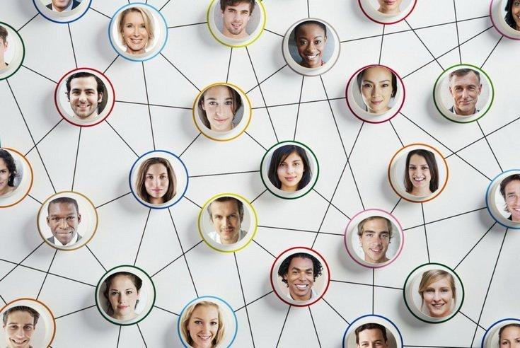 Сетевой маркетинг - лица людей