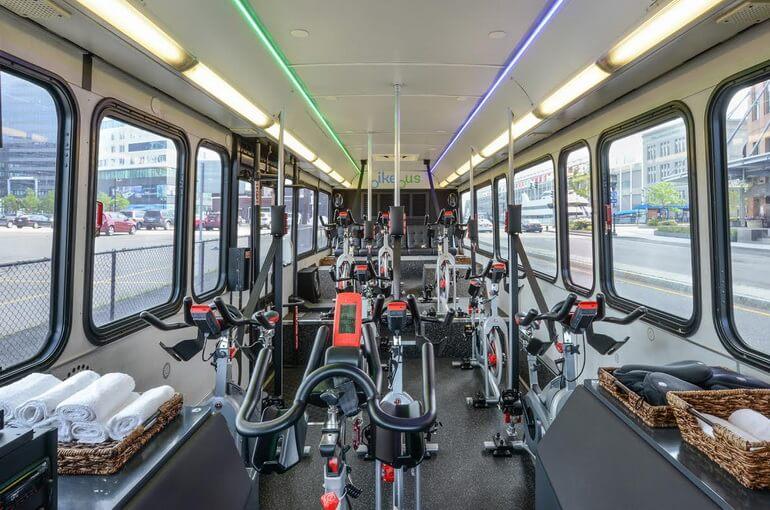 Фитнес-автобус