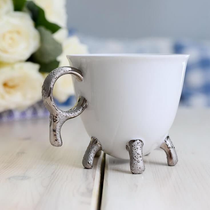 Чашка хендмейд