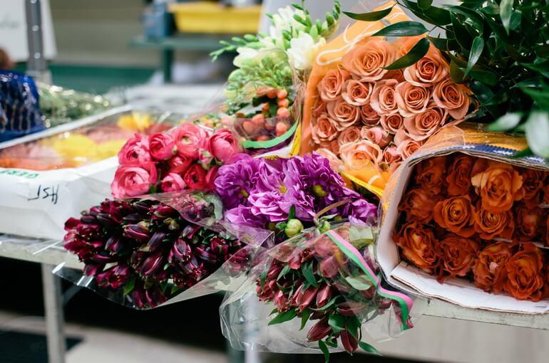 Рынок сбыта цветов