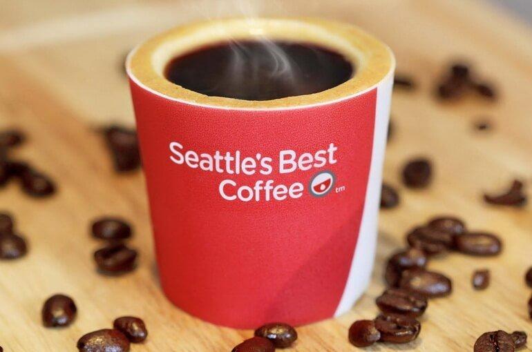 Съедобный стакан кофе
