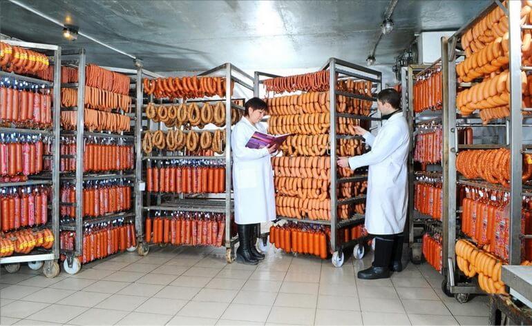 Составление акта санитарно-эпидемиологической станцией (СЭС) о пригодности цеха к производству колбасы