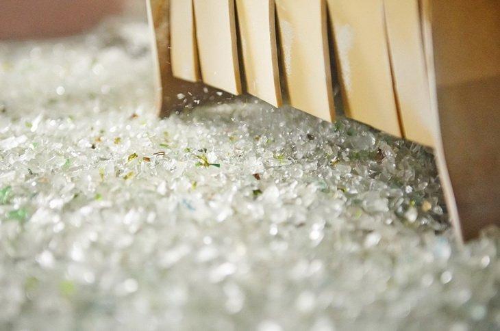 Бизнес на переработке битого стекла