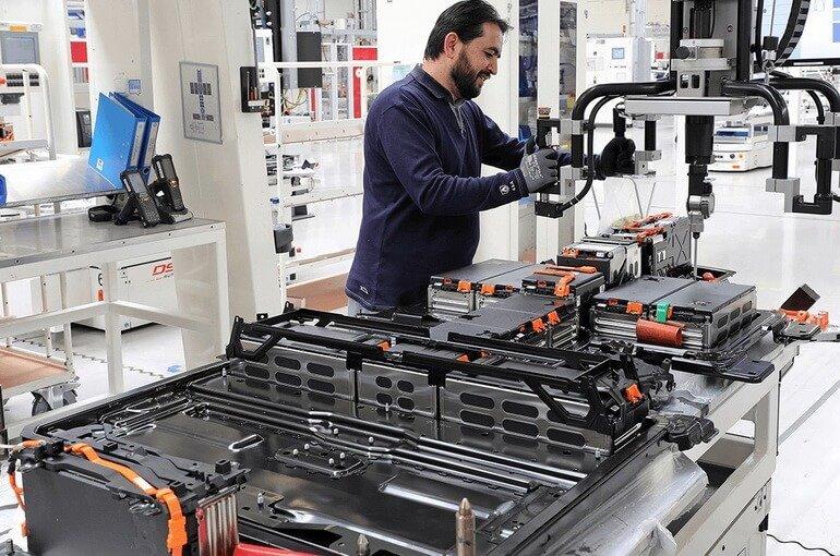 Производство аккумуляторов