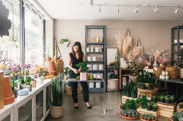 Бизнес-идеи для маленького города - Цветочный магазин