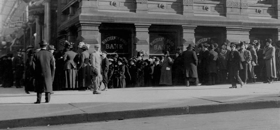 Банковская паника 1907 года: причины и последствия